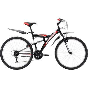 Велосипед Challenger Mission FS 26 красно-черный 18''