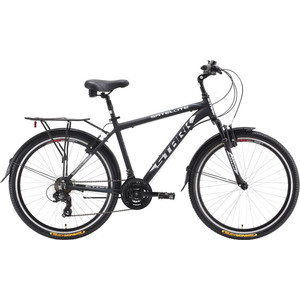 "Велосипед Stark Satellite черный/серый 18"""