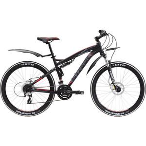 "Велосипед Stark Stinger HD черно-серый 18"" (Black 44см)"