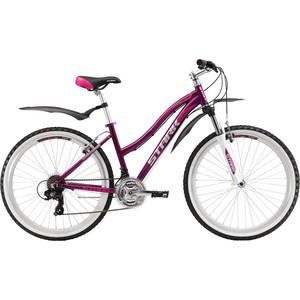 цены  Велосипед Stark Luna 26.2 V фиолетово-розовый 14,5