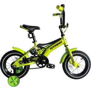 Велосипед Stark Tanuki 12 Boy зелено-черный