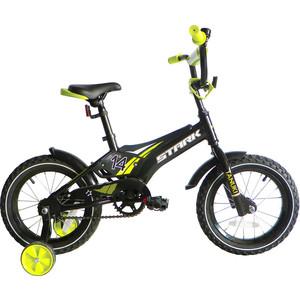Велосипед Stark Tanuki 14 Boy черно-зеленый