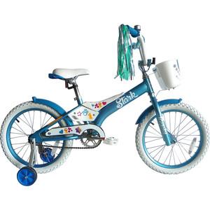 Велосипед Stark Tanuki 18 Girl сине-белый