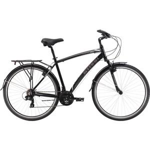 Велосипед Stark Terros 28.1 V черно-серый 20  - купить со скидкой