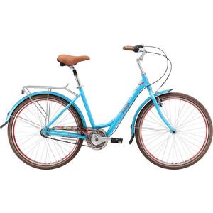 Велосипед Stark Vesta 26.4 V сине-красный 16 велосипед challenger mission lux fs 26 черно красный 16