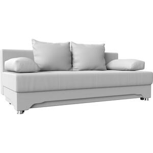 Диван-еврокнижка АртМебель Ник-2 эко-кожа белый цены онлайн