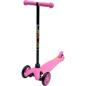 Самокат Trolo Mini (не регулируемый по высоте руль) Розовый (140214) самокат trolo mini up регулируемый по высоте руль голубой 140509