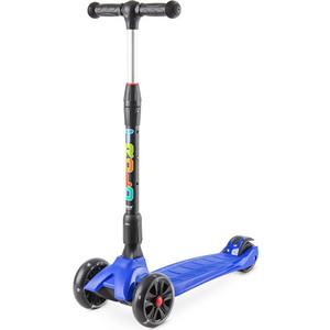 Самокат 3-х колесный Trolo Rapid со светящимися колесами Синий (141606) самокат small rider randy flash orange со светящимися колесами