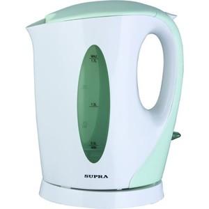 Чайник электрический Supra KES-1702 белый/фисташковый