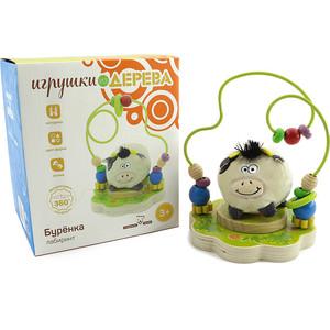 Мир деревянных игрушек Игрушка Лабиринт Буренка (Д384) мир деревянных игрушек лабиринт лева