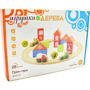Мир деревянных игрушек Игровой набор Трасса Гран-при (Д407)
