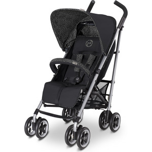 Коляска-трость Cybex Topaz Happy Black коляска cybex cybex коляска трость callisto princess pink