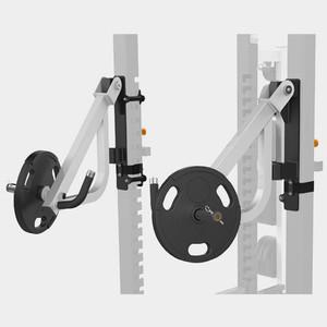 Рычаги для жима для силовой рамы Matrix MEGA Power Rack MAGNUM OPT17R рукоять для олимпийского грифа к силовой раме matrix mega power rack magnum opt16