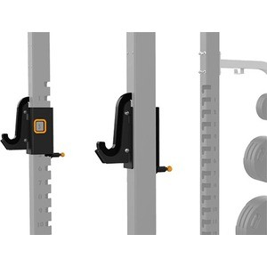 Крюки для олимпийского грифа для силовой рамы Matrix MAGNUM OPT1R рукоять для олимпийского грифа к силовой раме matrix mega power rack magnum opt16