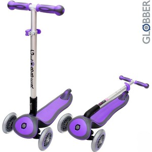Самокат 3-х колесный Globber 446-103 ELITE S My Free Fold up PURPLE free shipping 10pcs 53003heb s