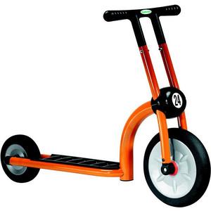 Самокат 2-х колесный ITALTRIKE 200-11 Скутер Динамик двухколесный оранжевый скутер vermeiren carpo 2