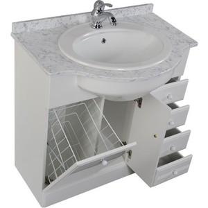 Раковина мебельная Aquanet Марсель (Vidima) белая (168239) душевая кабина aquanet hawaii new 172426 белая