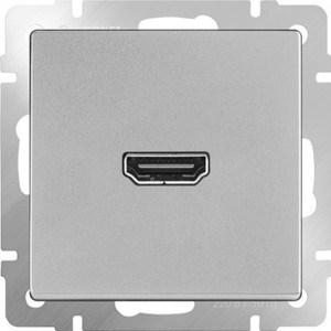 Розетка HDMI Werkel Розетка HDMI серебряная WL06-60-11