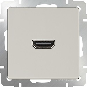 Розетка HDMI Werkel Розетка HDMI слоновая кость WL03-60-11 werkel