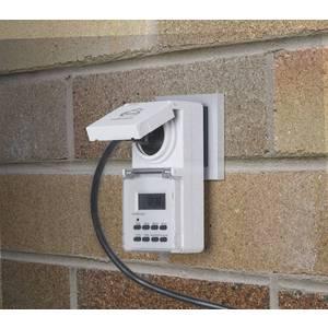 Розетка-таймер Elektrostandard TMH-E-6 16A x1 IP44 Белый 4690389032431 блок выключателей glen gelan 16a