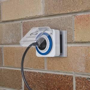 Розетка-таймер Elektrostandard TMH-M-2 16A x1 IP44 Белый 4690389032394 напольная плитка нефрит салерно светло бежевый 38 5x38 5