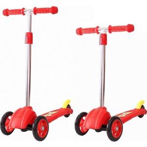 где купить Самокат 3-х колесный RT 16 4в2 MINI ORION красный (пакет) дешево