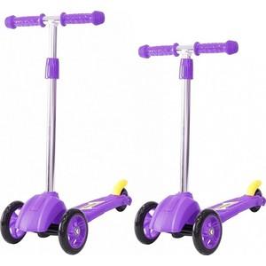 Самокат 3-х колесный RT 16 4в2 MINI ORION фиолетовый (пакет) самокат 3 х колесный foxx foxx самокат 3 х колесный fairy tale фиолетовый