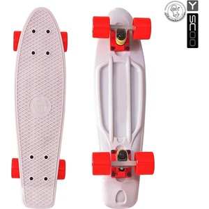 RT 401-G Скейтборд Fishskateboard 22 винил 56,6х15 с сумкой GREY/red iwona red 22 inches