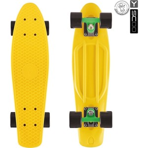 RT 402-G Скейтборд Big Fishskateboard 27 винил 68,6х19 с сумкой GREEN/black rt 402e y скейтборд big fishskateboard glow 27 винил 68 6х19 с сумкой yellow yellow
