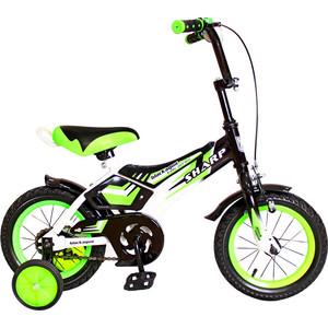 RT KG1210 2-х колесный велосипед BA Sharp 12, 1s (зеленый) детский велосипед mtr sharp 12 kg1210 blue