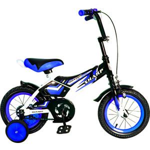 RT KG1210 2-х колесный велосипед BA Sharp 12, 1s (синий) велосипед двухколёсный rich toys ba camilla 14 1s розовый kg1417