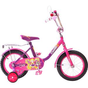 RT KG1417 2-х колесный велосипед BA Camilla 14, 1s (фиолетовый) вспышка для фотокамеры 2xyongnuo yn600ex rt yn e3 rt speedlite canon rt st e3 rt 600ex rt 2xyn600ex rt yn e3 rt