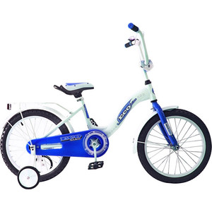 RT KG1621 2-х колесный велосипед ALUMINIUM BA Ecobike 16, 1s (голубой) novatrack novatrack велосипед 2 х колесный maple 12 зеленый