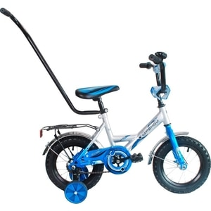 RT XB1201 2-х колесный велосипед МУЛЬТЯШКА Френди 1201 12, 1s с ручкой (синий) велосипед 3 х колесный puky трехколесный велосипед cat 1s white mint