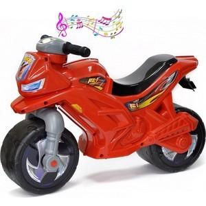 RT ОР501в3 Каталка-мотоцикл беговел Racer RZ 1 с музыкой, цвет красный