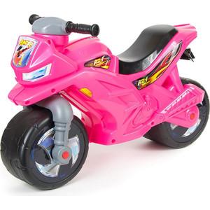 RT ОР501 Каталка-мотоцикл беговел Racer RZ 1 цвет розовый