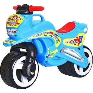 RT 11-006 Беговел MOTORCYCLE 7 голубой