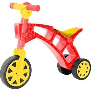 купить RT Т2759 Каталка-беговел Самоделкин 3 колеса с клаксоном красно-желтая недорого