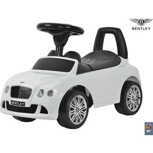 RT 326 Каталка-автомобиль Bentley с музыкой - белый гуткин м попадать так с музыкой isbn 9785227027801