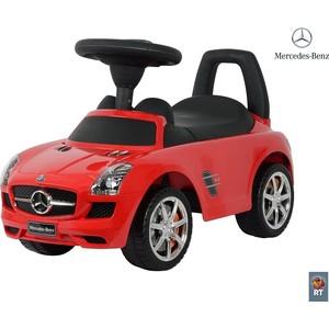 RT 332 Каталка-автомобиль Mercedes-Benz с музыкой - красный