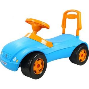 RT ОР016 Каталка машинка Мерсик с клаксоном синяя