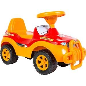 RT ОР105 Каталка машинка Джипик с клаксоном красная каталка orion toys каталка джипик полиция 105 пол