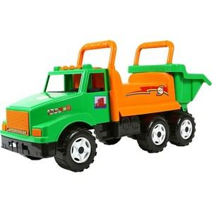 RT ОР211 Каталка самосвал МАГ с кузовом, 6 колёс зеленая