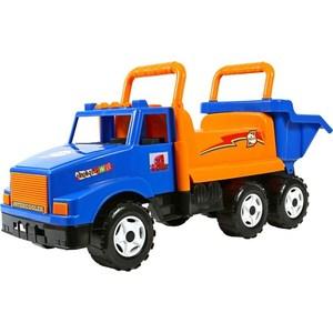 RT ОР211 Каталка самосвал МАГ с кузовом, 6 колёс синяя