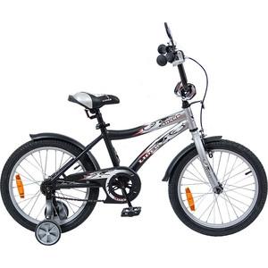 Velolider 18A-1887GR 2-х колесный велосипед 18 LIDER SHARK серый/черный велосипед velolider rush army 18 ra18 хаки