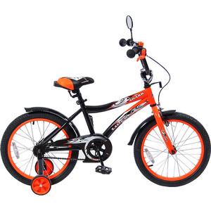Velolider 18A-1887OR 2-х колесный велосипед 18 LIDER SHARK оранжевый/черный