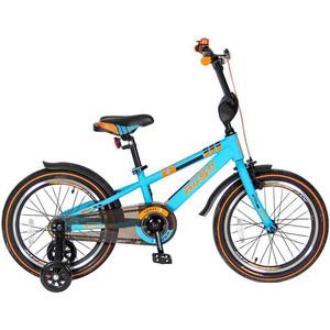 Velolider R18B 2-х колесный велосипед 18 RUSH SPORT бирюзовый велосипед velolider rush sport 18 бирюзовый двухколёсный r18b