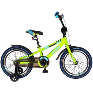 Velolider R18G 2-х колесный велосипед 18 RUSH SPORT зеленый velolider r18b 2 х колесный велосипед 18 rush sport бирюзовый