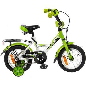 Velolider VO12BZ 2-х колесный велосипед 12 LIDER ORION белый/зеленый велосипед двухколёсный velolider lider shark 16