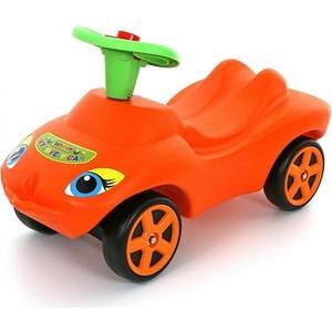 Wader 44600 Каталка ''Мой любимый автомобиль'' оранжевая со звуковым сигналом